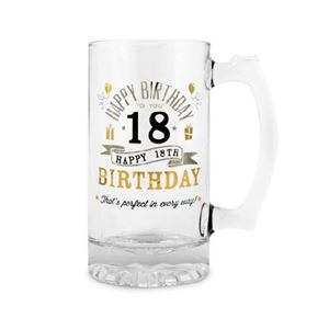 Picture of Happy 18th Tankard