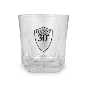 Picture of 30th Whiskey Glass