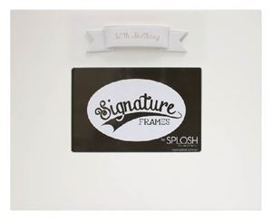 Picture of Signature Frame 18 White