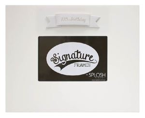 Picture of Signature Frame 70 White