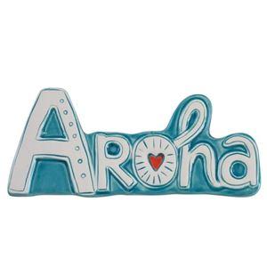 Picture of Aroha Turquoise/Tangerine