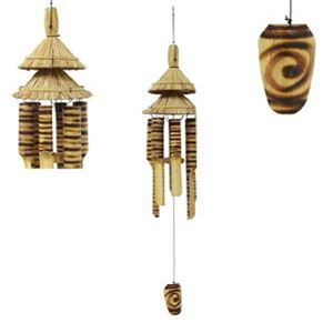 Picture of Dble Hut Bamboo WChime