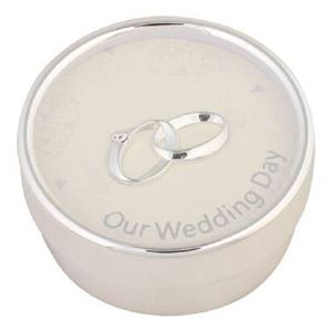 Picture of 9cm Silver Sentiments Wedding