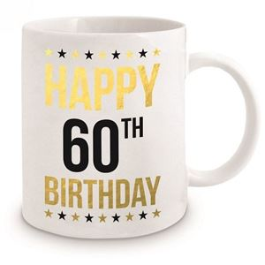 Picture of 60th Birthday Gold Mug