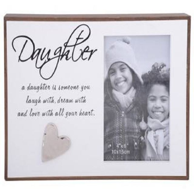 Love Lines Frame Daughter   Gift Shop LynnMall   Souvenirs   Kiwiana ...