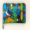 Picture of Leather Wallet NZ Birds Lge
