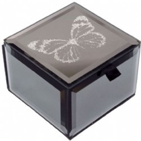Picture of Mini trinket box b/fly