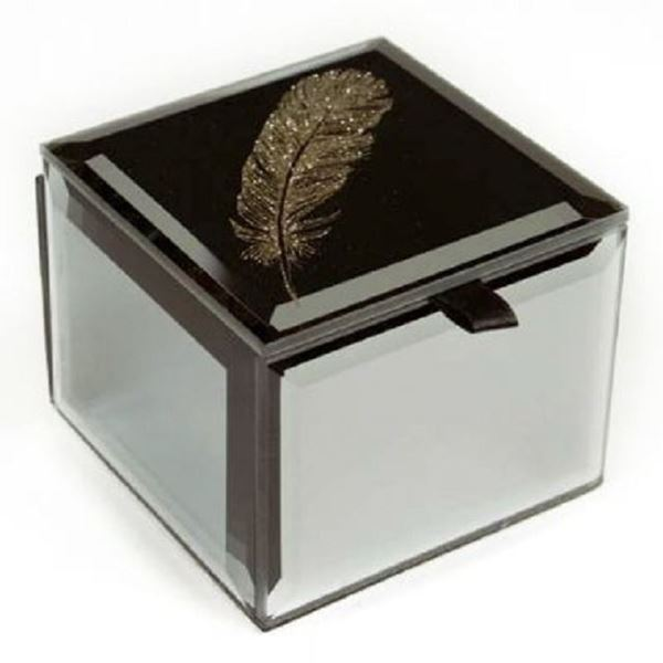 Picture of Mini trinket box feather