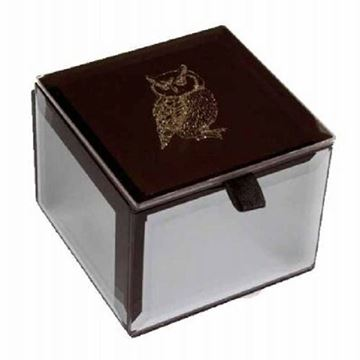 Picture of Mini trinket box owl