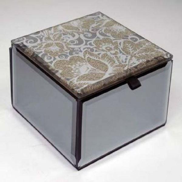Picture of Golden glitzi trinket box