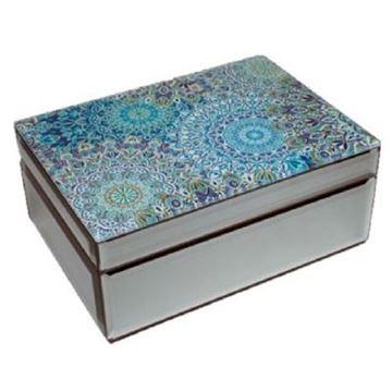 Picture of Mandala blue jewellery box
