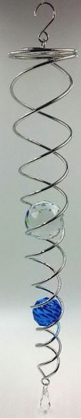 Picture of Crystal spinner blue