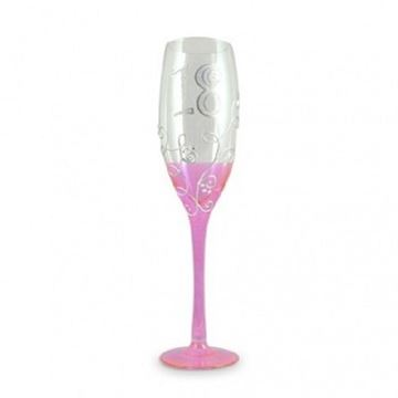 Picture of 18 vine pink champ glass