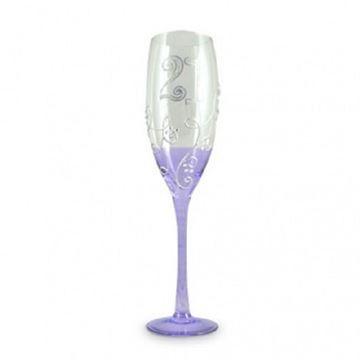 Picture of 21 vine purple champ glass