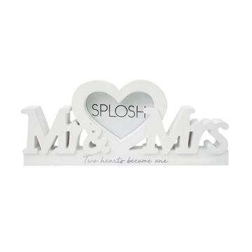 Picture of Mr & mrs frame word