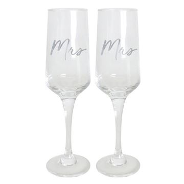 Picture of Mrs & mrs champ flute set