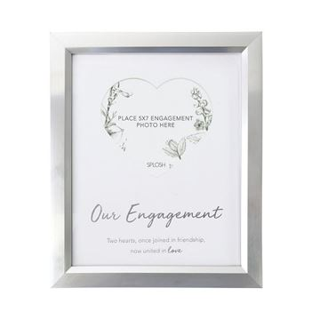 Picture of Engagement heart 5x7 frame
