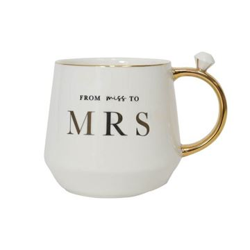Picture of Miss to mrs mug