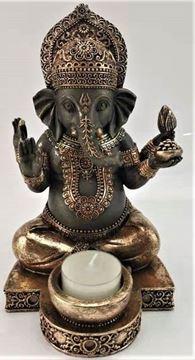 Picture of Ganesh t/light holder