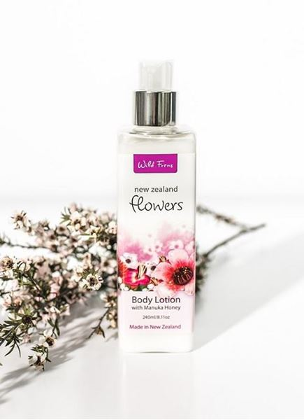 Picture of Flowers body lotion