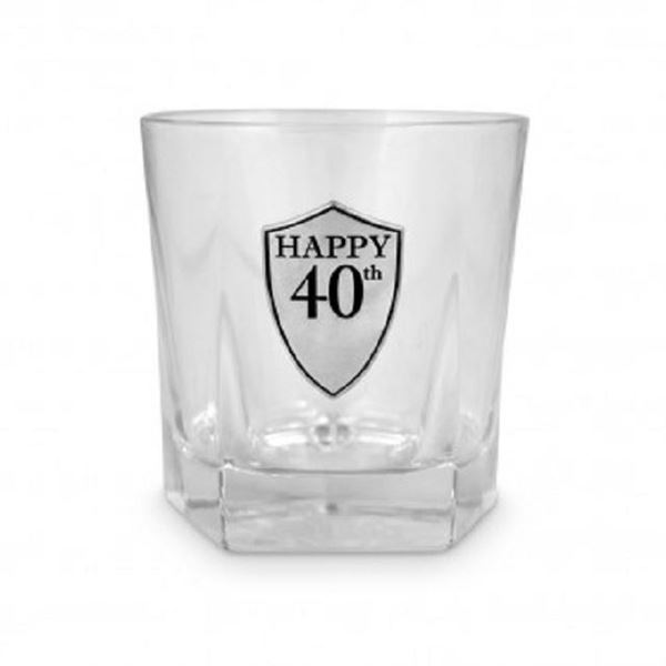 Picture of 40 whiskey glass