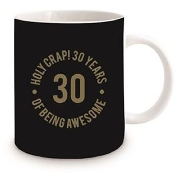 Picture of 30th black mug