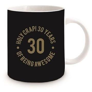Picture of 30th black mug