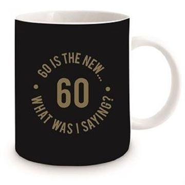 Picture of 60th black mug