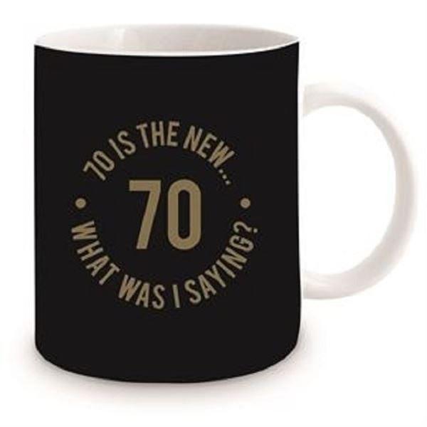 Picture of 70th black mug