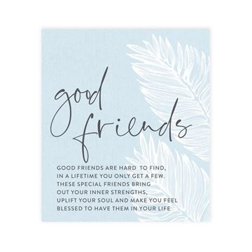 Picture of Good friends verse