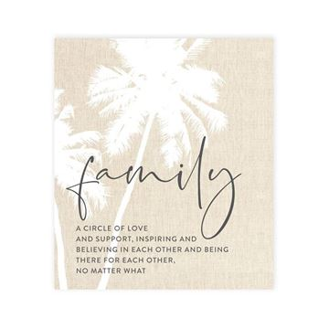 Picture of Tranquil family verse