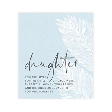 Picture of Tranquil daughter verse