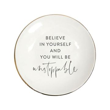 Picture of Tranquil believe plate