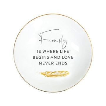 Picture of Tranquil family plate