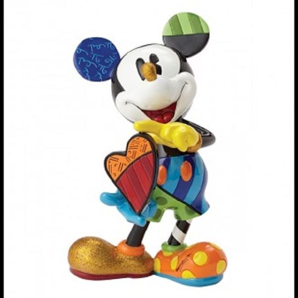 Picture of Mickey holding heart