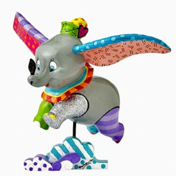 Picture of Dumbo flying figurine