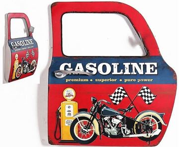 Picture of Car door art gasoline