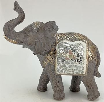 Picture of Elephant with mosaic