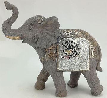 Picture of Elephant w/mosaic