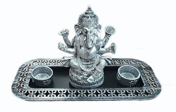 Picture of Ganesh candle holder