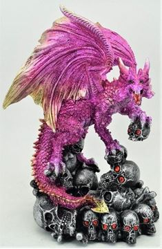 Picture of Dragon/skull purple