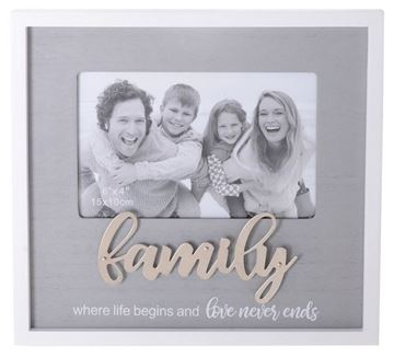 Picture of 6x4 family block frame