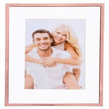 Picture of 5x7 rose gold trim frame