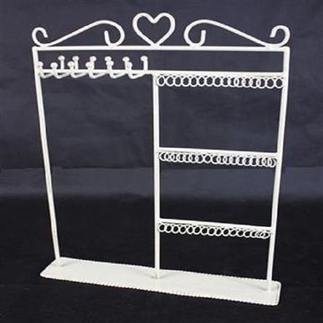 Picture of Necklace/earring stand cream