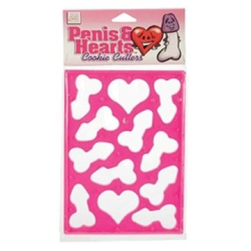 Picture of Penis/heart cookie cutter