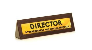 Picture of Wooden desk sign director