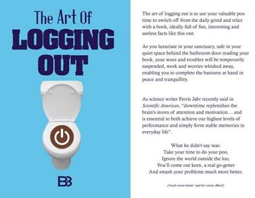 Picture of Book the art of logging out
