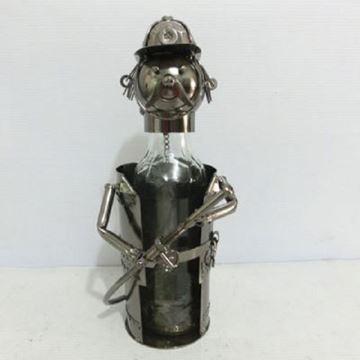 Picture of Beer bottle hldr fireman