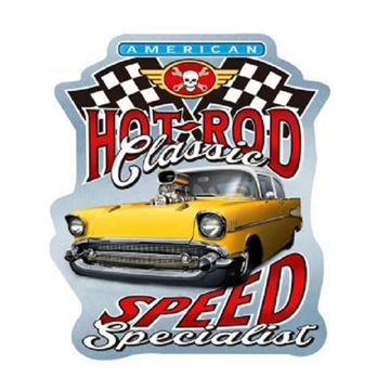Picture of Hot rod specialist plaque