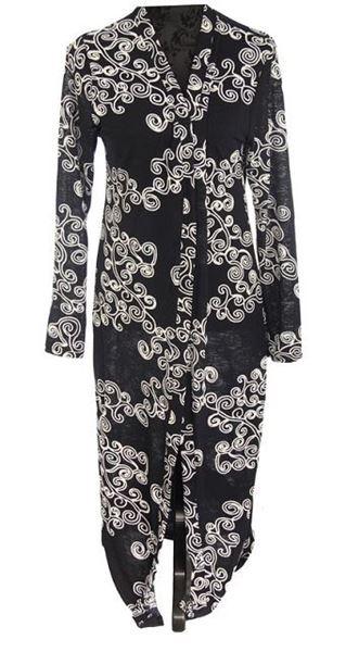 Picture of Swirls cape coat